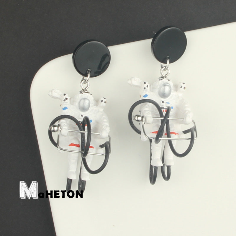 Space Walking Astronauts Stud Earrings - AHED Project