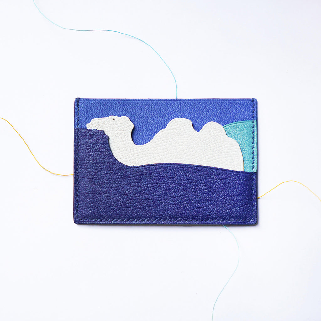 Camel Card Case - Chevre Leather (Quick to ship) - AHED Project