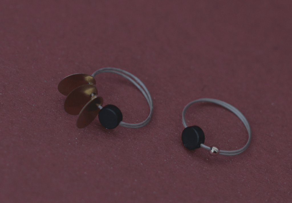 Axis Series - Retro Orbital Discs Rings Set (Quick to ship)