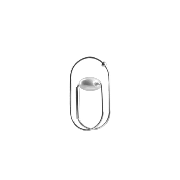 Normcore Architectural Pearl Ring (Quick to ship)
