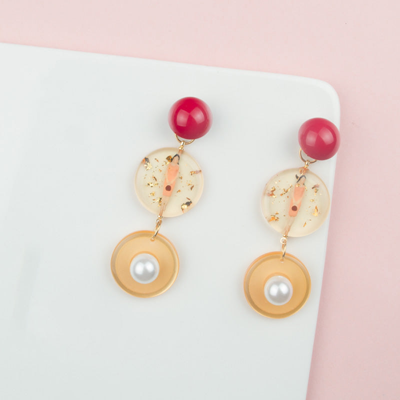 Chic Vintage Drop Hoop Earrings - AHED Project