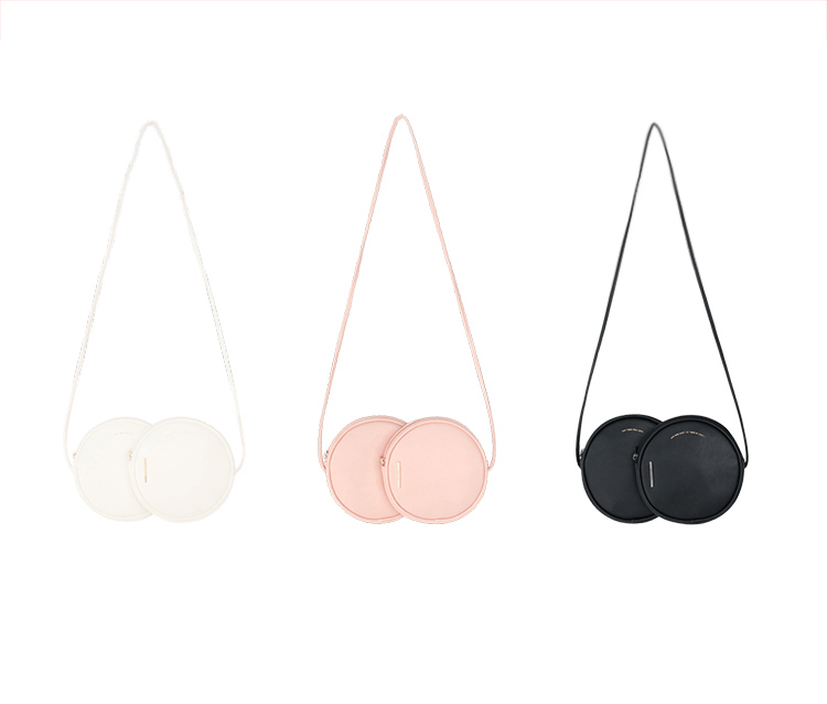 Double Series - Dual Circles Crossbody Bag - AHED Project