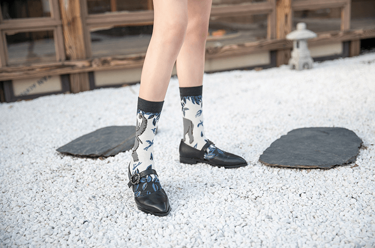 Fun Print Women's Trouser Socks - 4 Pack - AHED Project