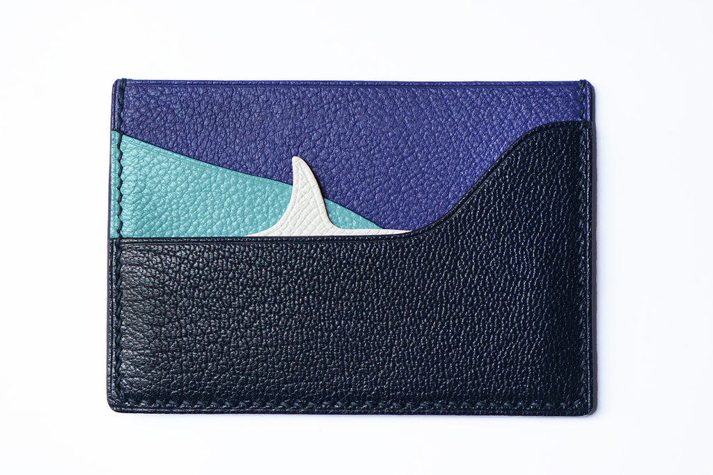 Shark Fin Design Leather Card Case (Quick to ship) - AHED Project