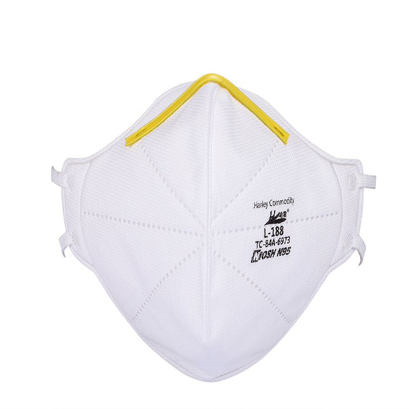 NIOSH-Approved N95 Respirators - Model L-188 (20 pcs) - 2 to 5 Days Delivery