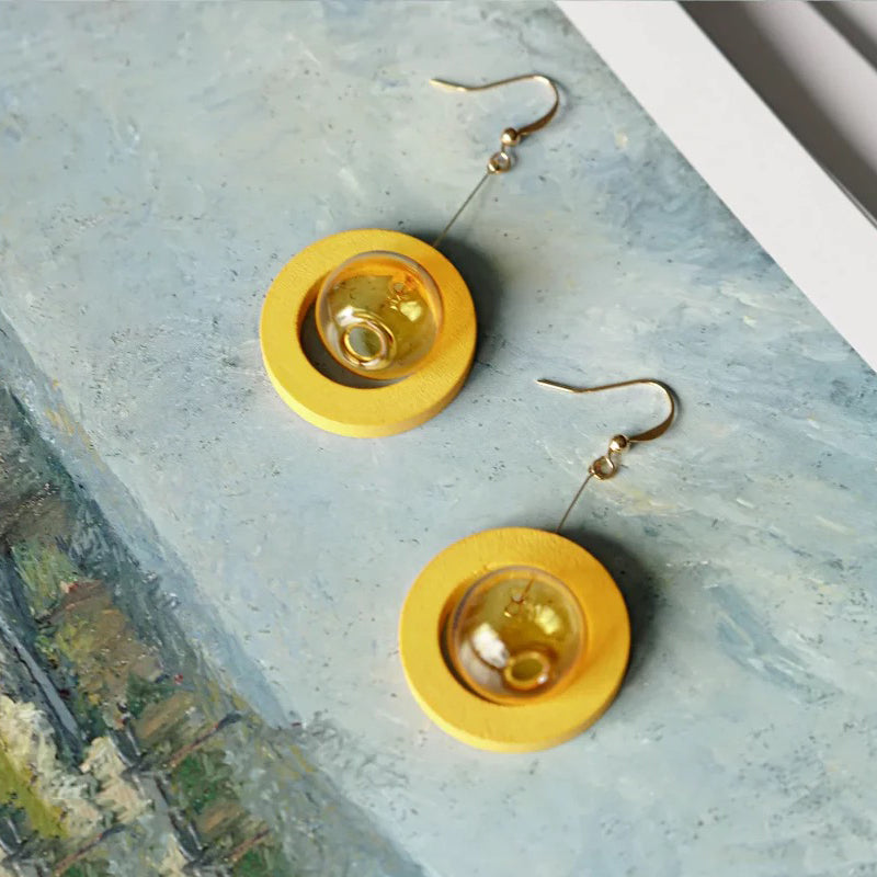 Mango Candy Bubble Drop Earrings (Quick to ship) - AHED Project