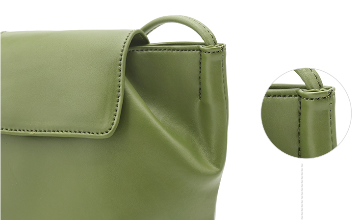 Grass Green Soft Pillow Bag-Crossbody - AHED Project