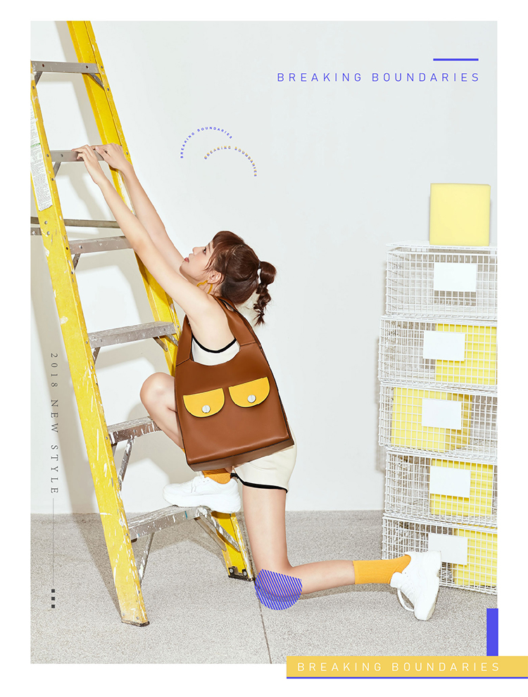 Love Cool Kid Series - Spacious Shoulder Tote Bag - AHED Project