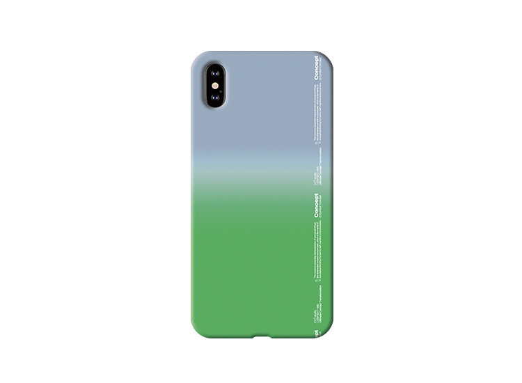 Conception Lab Original - E1 Ombré [Shockproof Soft TPU Phone Case]