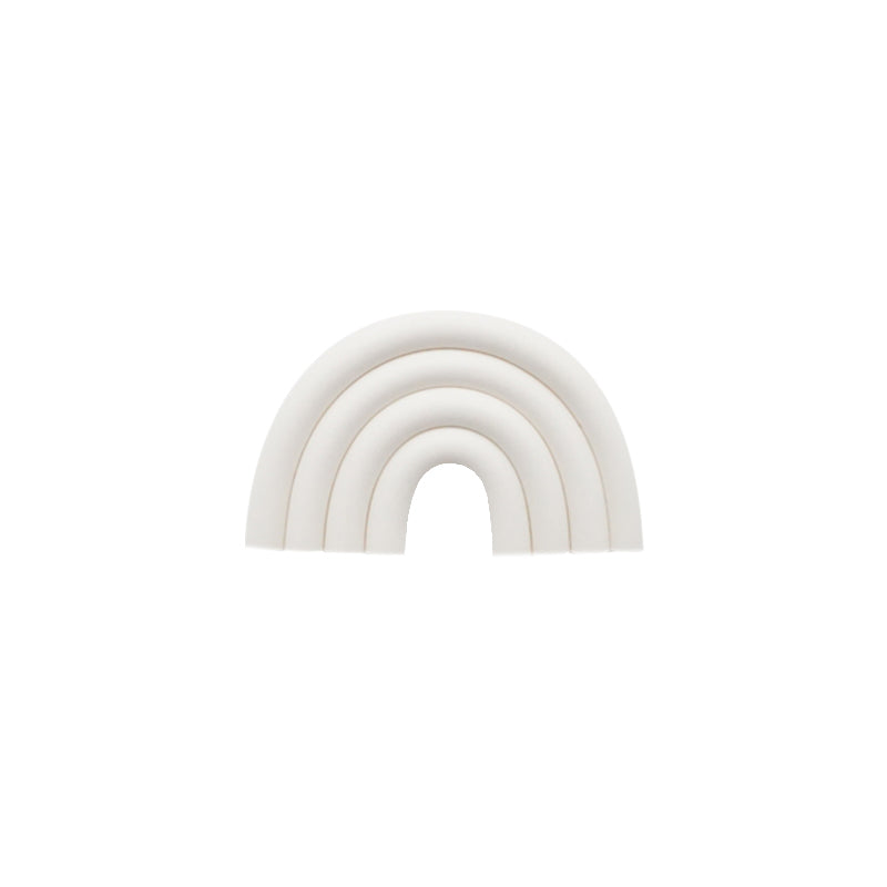 White Clay Rainbow Ear Clips - 2 to 5 Days Delivery