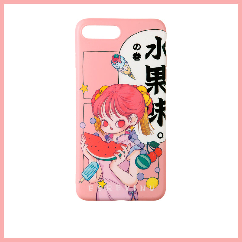 Illustration Phone Case - Fruit Taste