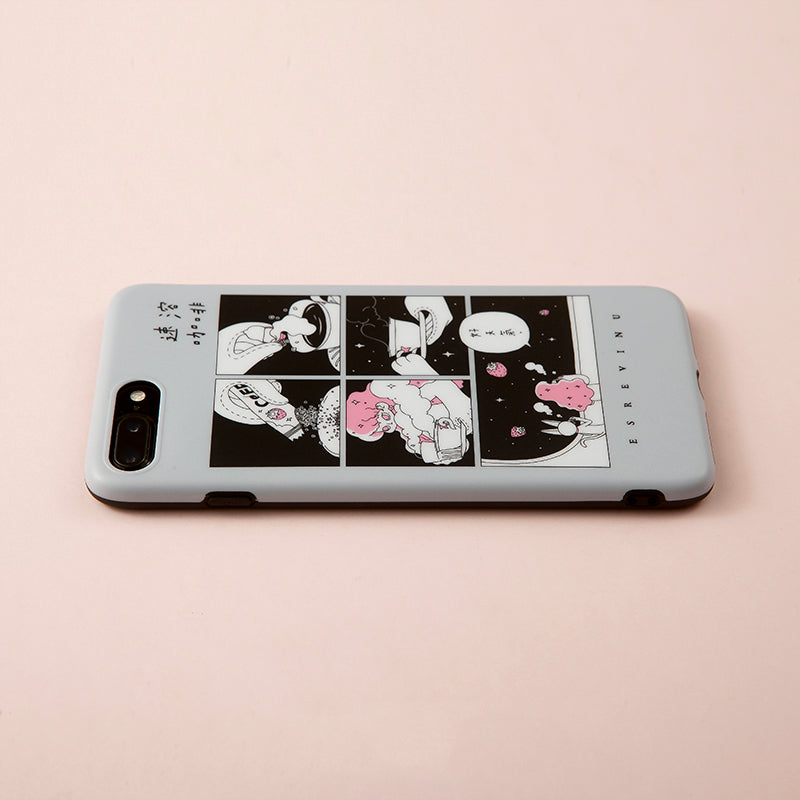 Illustration Phone Case - Instant Coffee