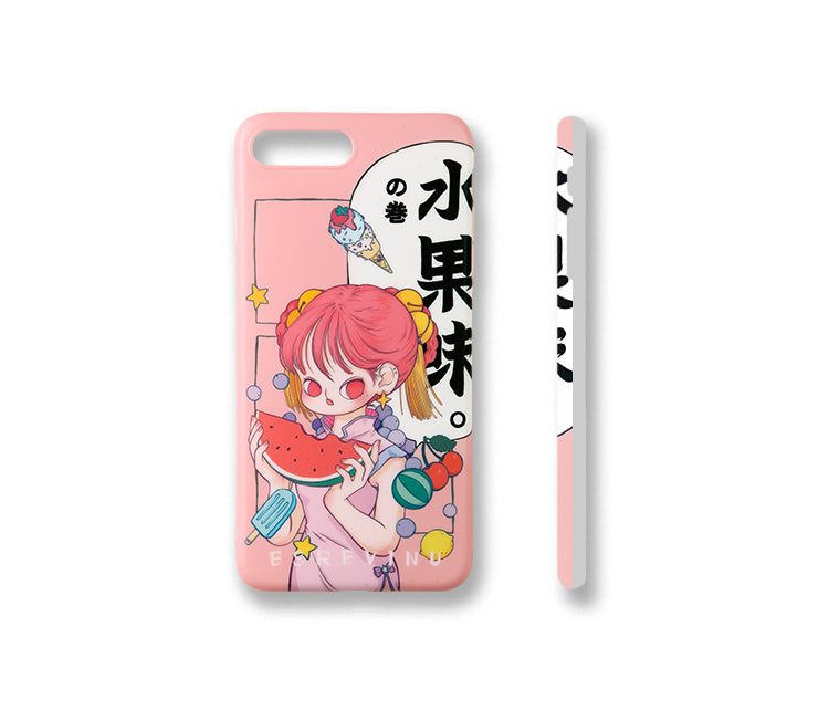 Illustration Phone Case - Fruit Taste - AHED Project