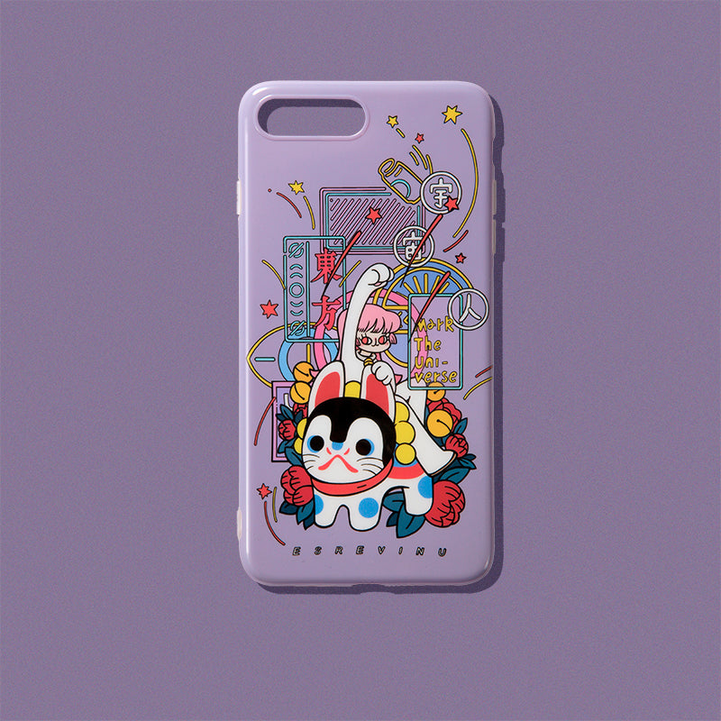 Illustration Phone Case - かんばんむすめ