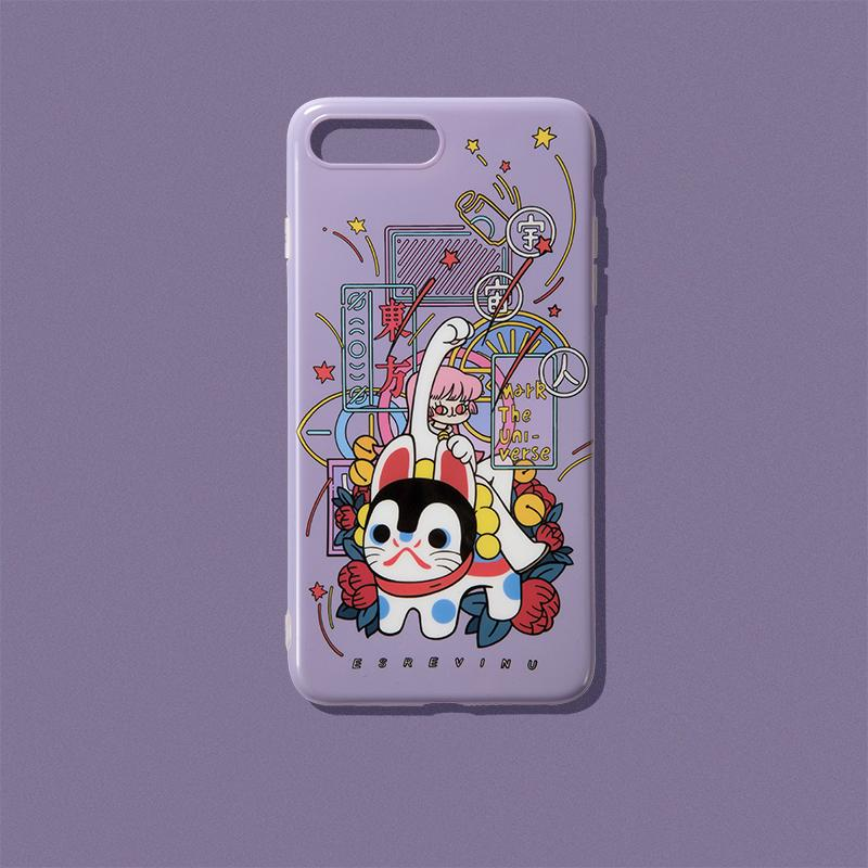 Illustration Phone Case - かんばんむすめ - AHED Project