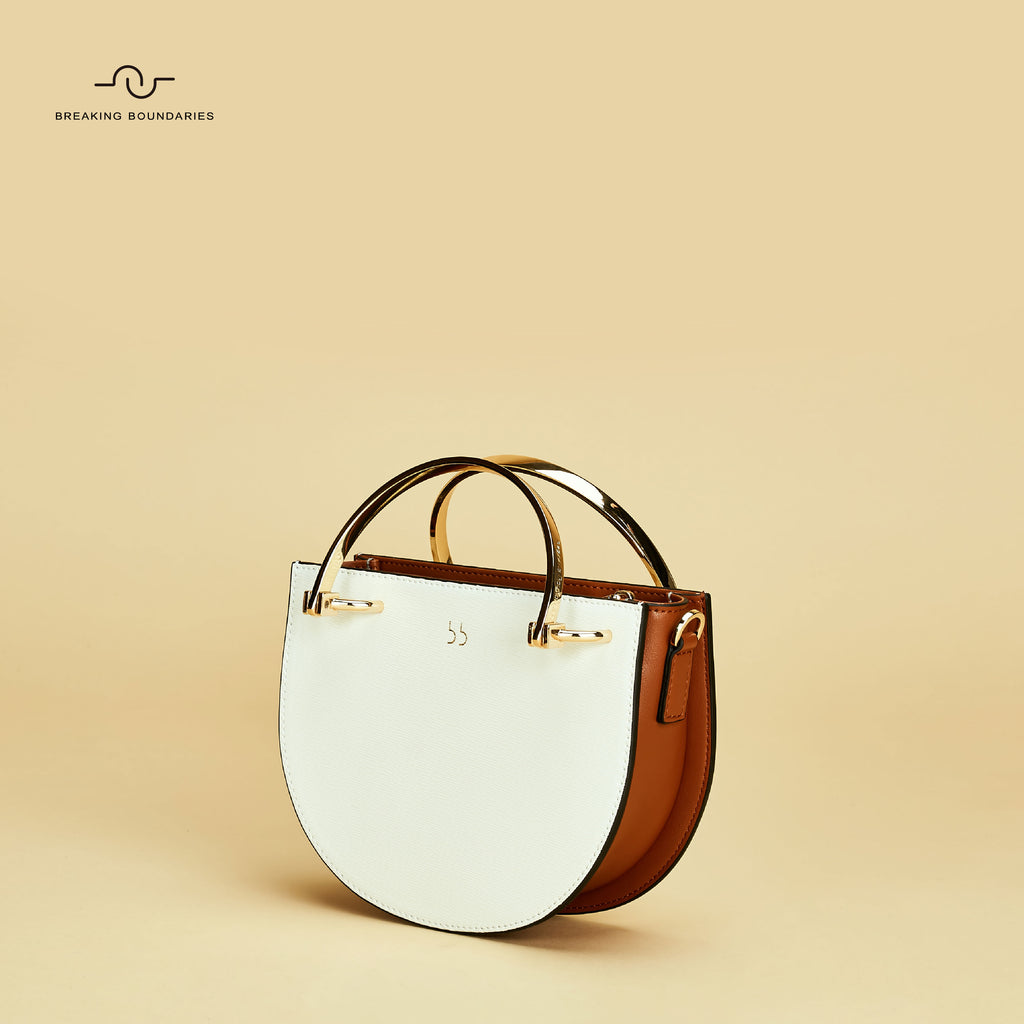 D-Ring Handle Crossbody Saddle Bag - AHED Project