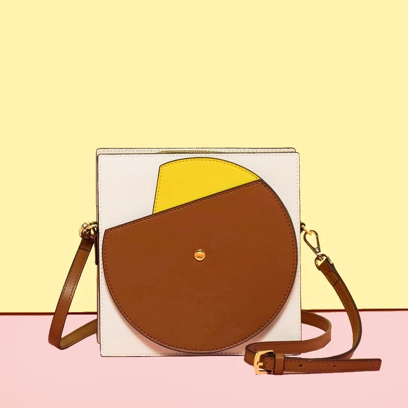 Playful Color Blocks Square Crossbody Bag (Pre-order) - AHED Project