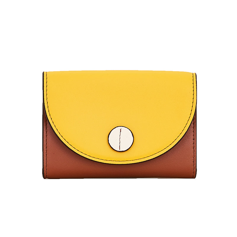 Candy Color Blocks Card Case/Wallet