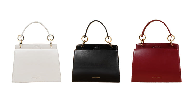 Classic Top Handle Double Compartment Handbag - 3 Shades - AHED Project