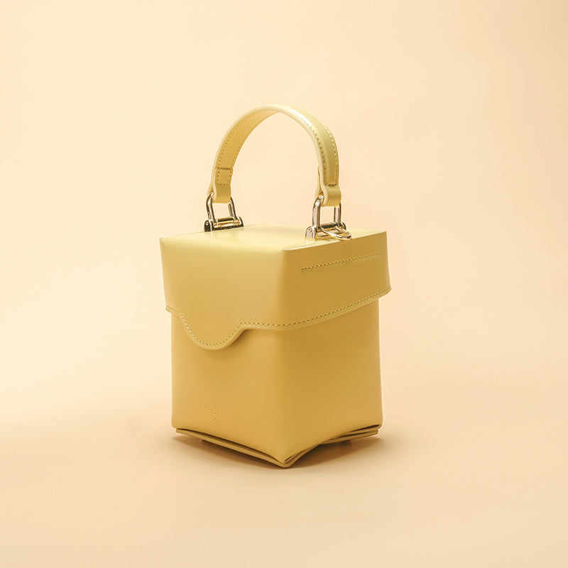 Summer Candy Crossbody Leather Box Bag