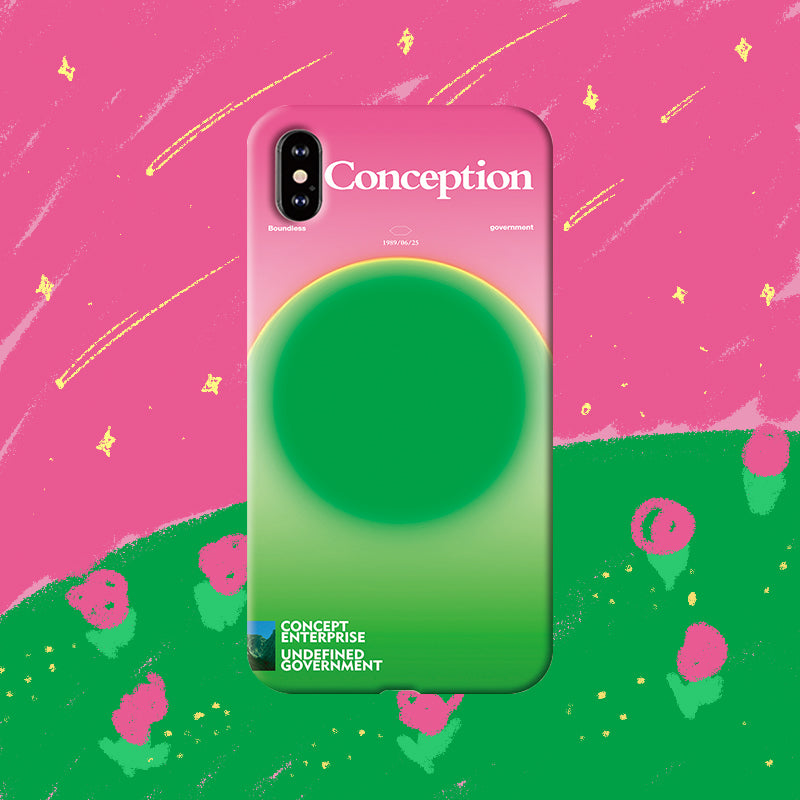 Conception Lab Original - WATERMELON [Shockproof Soft TPU Phone Case]