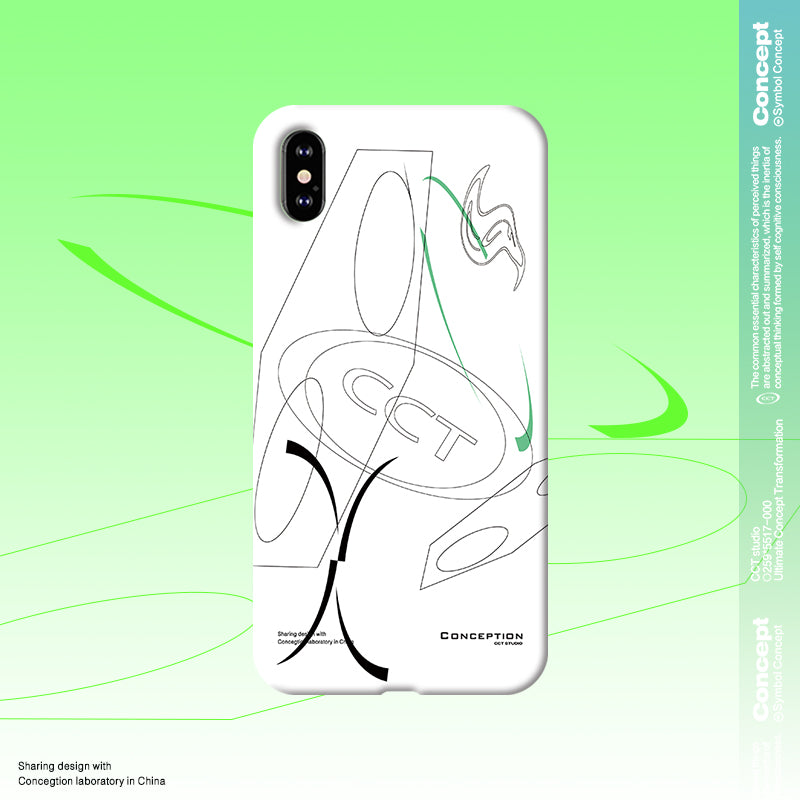 Conception Lab Original - DOODLE [Shockproof Soft TPU Phone Case]