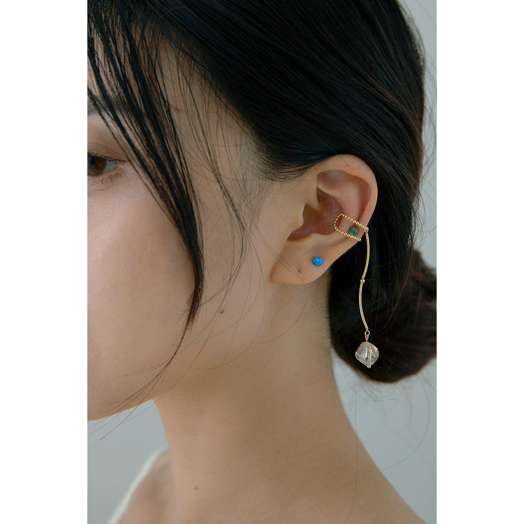 Crystal Wire Cartilage Ear Cuff