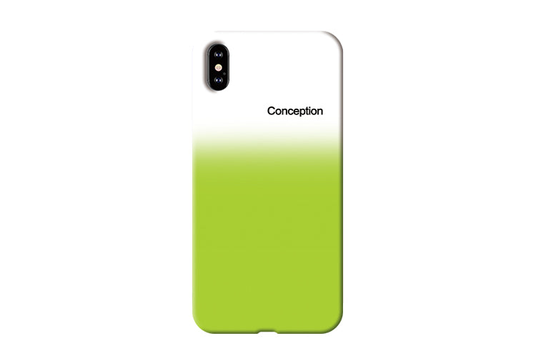 Conception Lab Original - GRADIENT GREEN [Shockproof Soft TPU Phone Case]