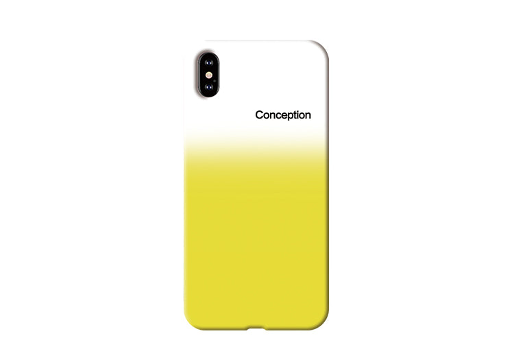 Conception Lab Original - GRADIENT YELLOW [Shockproof Soft TPU Phone Case]