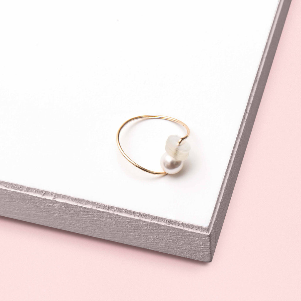 Jolly Pearl Sequin Ring (Quick to ship)