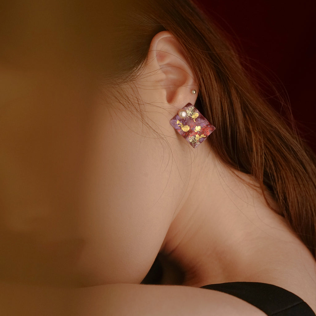 Year Of The Mouse Collection - Hand Crafted Stud Earrings