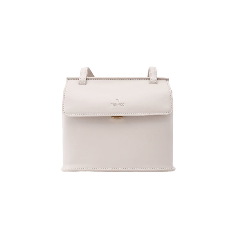 Minimalist Grace Structured Crossbody Bag