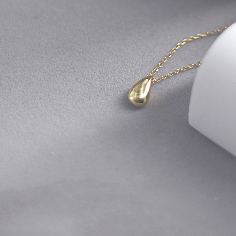Avitta Teardrop Dainty Necklace - 18K Gold-Plated Necklace