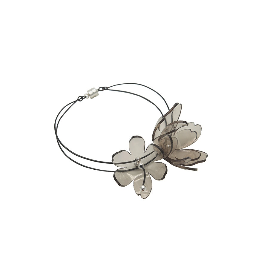 Smoky Bloom Series - Magnetic Clasp Bracelet