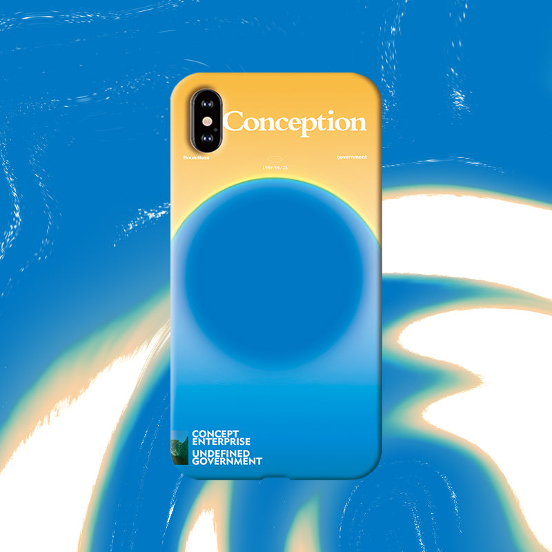 Conception Lab Original - SKY LIGHT [Shockproof Soft TPU Phone Case]