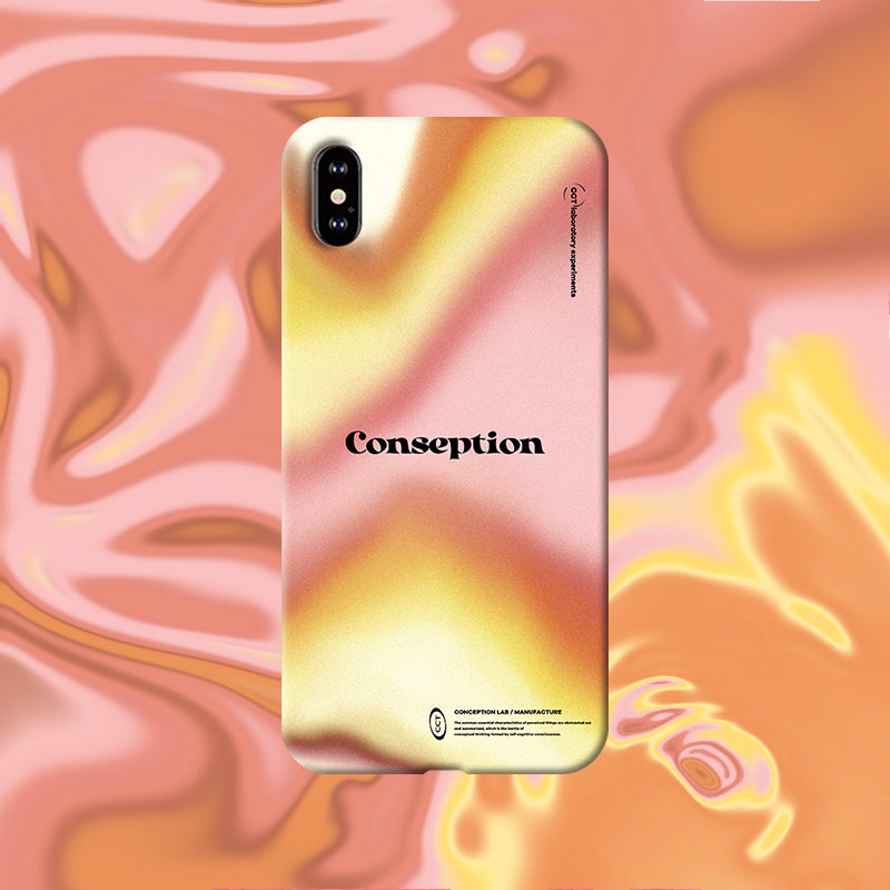 Conception Lab Original - MORNING GLOW [Shockproof Soft TPU Phone Case]