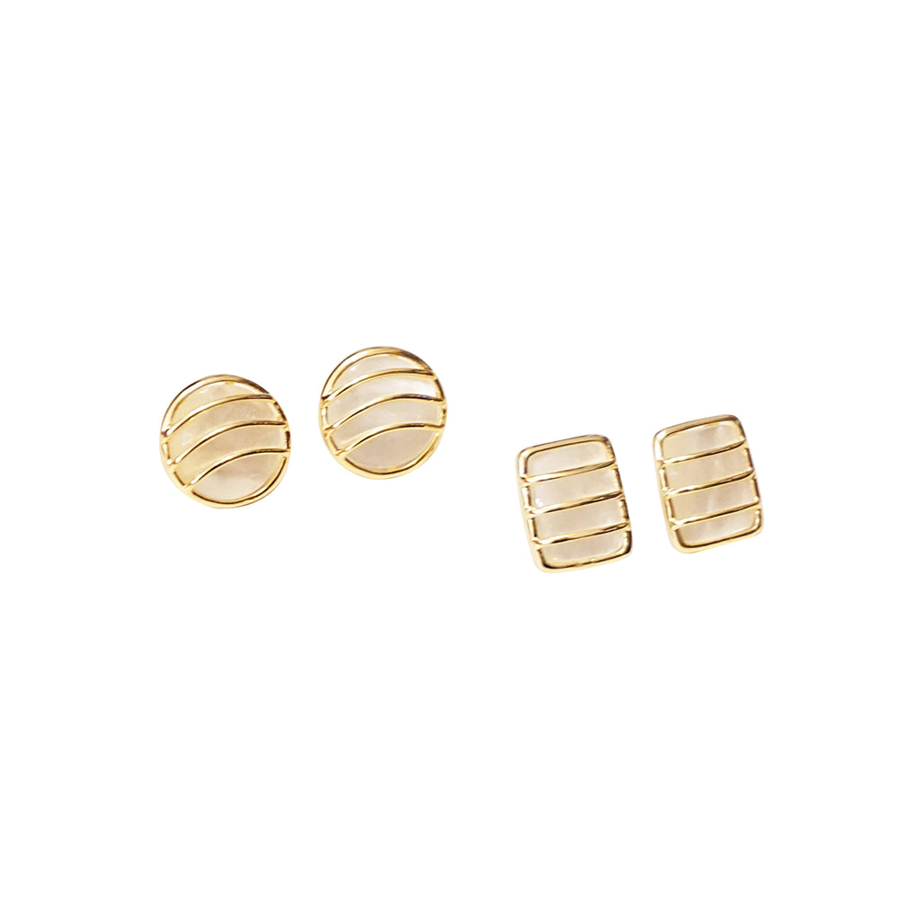 Quintessential Seashell Stud Earrings