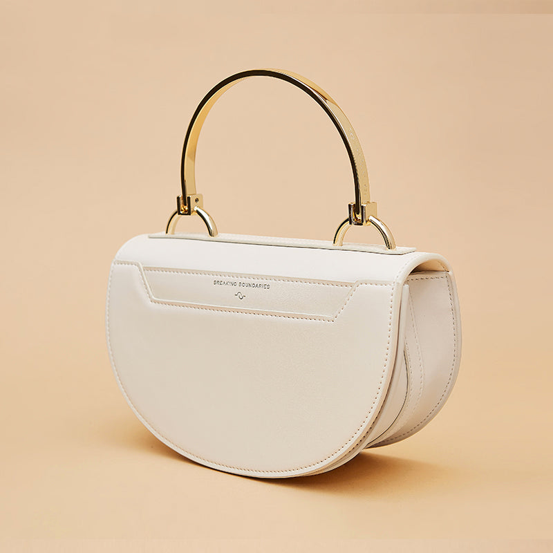 D-Ring Handle Crossbody Mini Saddle Bag - AHED Project