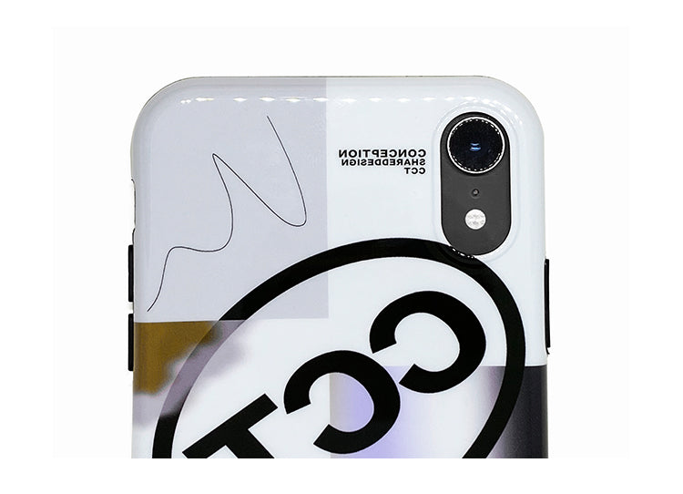 Conception Lab Original - CCT COLLAGE [Shockproof Soft TPU Phone Case]