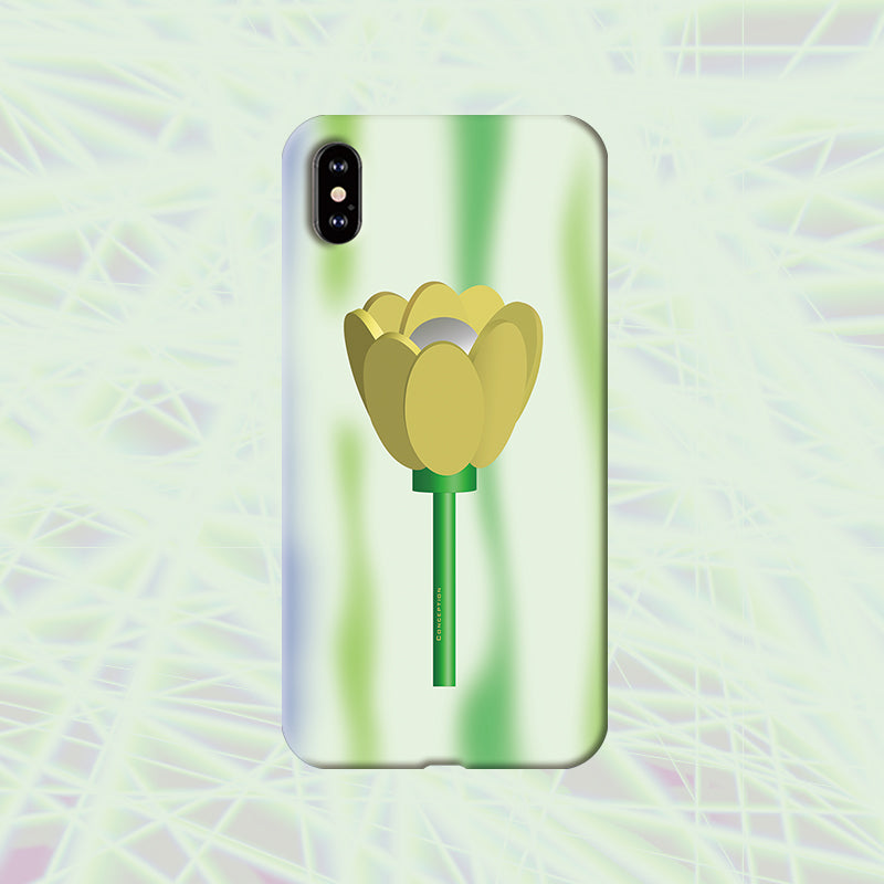 Conception Lab Original - TULIP GREEN [Shockproof Soft TPU Phone Case]