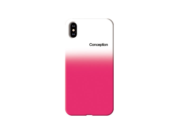 Conception Lab Original - GRADIENT ROSE RED [Shockproof Soft TPU Phone Case]