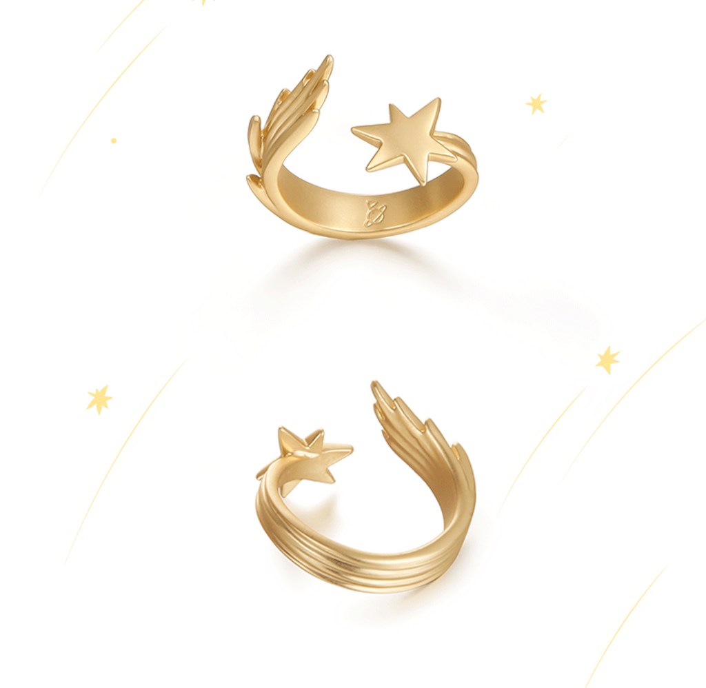 Shooting Star - Fireworks Ring
