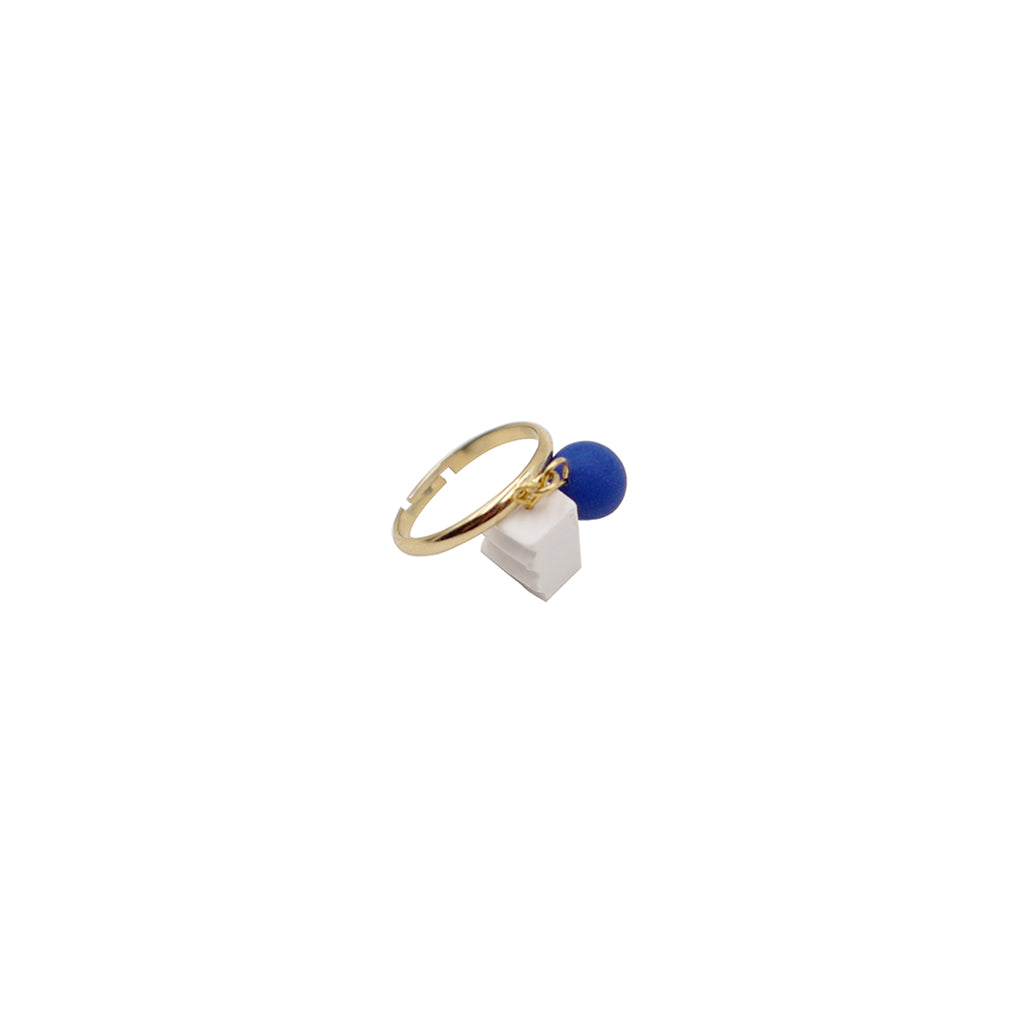 Klein Blue Charms Open Ring (Quick to ship)