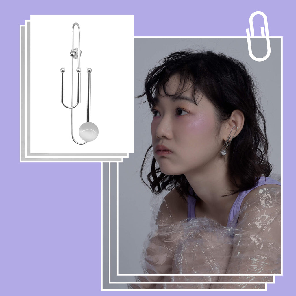 Versatile Paper Clip Inspo Earrings (Quick to ship)