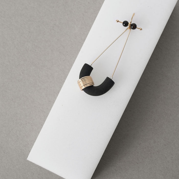 Punctuation Marks Series - Parenthesis Inspired Drop Earrings (Quick to ship) - AHED Project