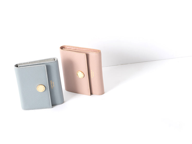 Soft Colors Tri Fold Essential Wallet
