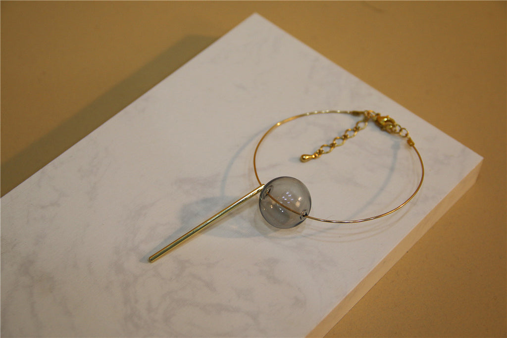 Mermaid Glass Bubble Bracelet Bangle