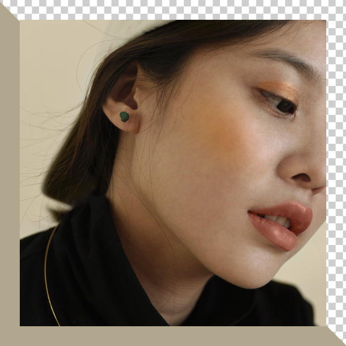 Punctuation Marks Series - Comma Inspired Stud Earring (Quick to ship) - AHED Project
