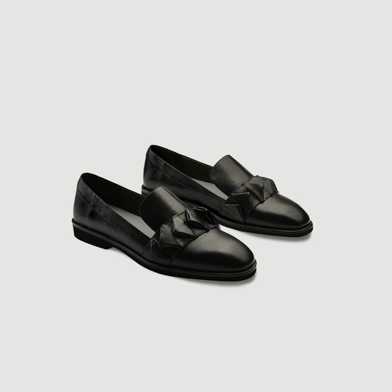 Origami Folds Loafer in 3 Shades