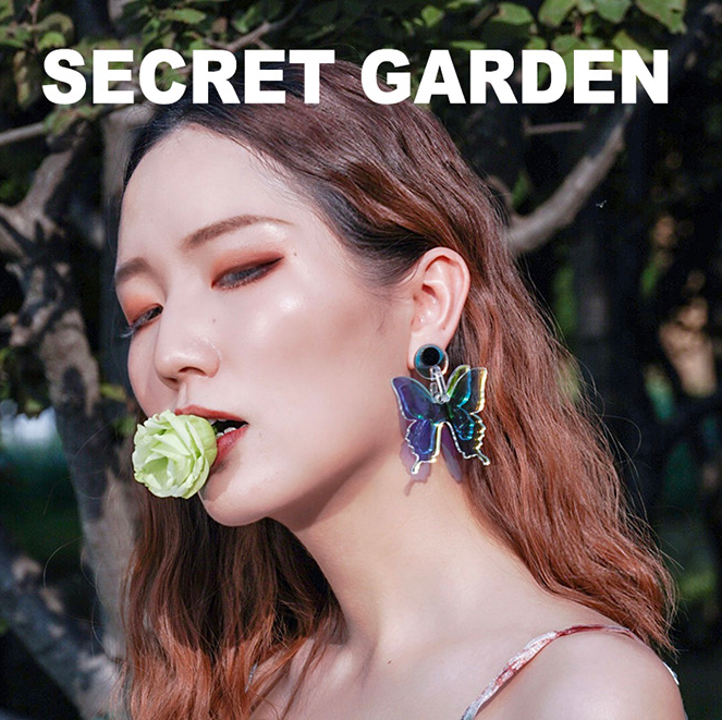 Secret Garden Series Butterfly Earrings